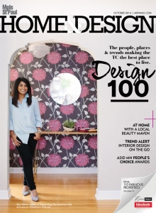 October, 2014 Minneapolis St Paul Magazine Home & Design Edition