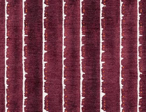 SylvieAndMira Deckle Dot Purple Rug