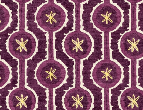 SylvieAndMira Leap Purple Rug