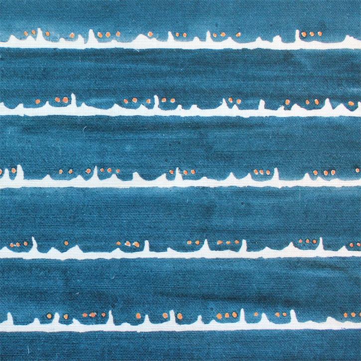 Sylvie&Mira Fabric Deckle Dot Blue