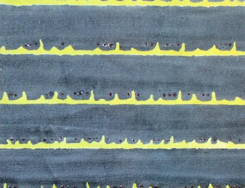 SylvieAndMira Deckle Dot Grey Fabric