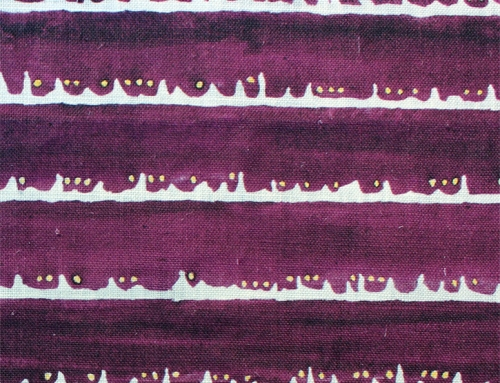 SylvieAndMira Deckle Dot Purple Fabric