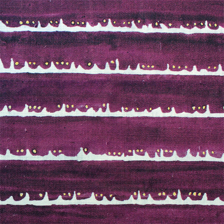 Sylvie&Mira Fabric Deckle Dot Purple