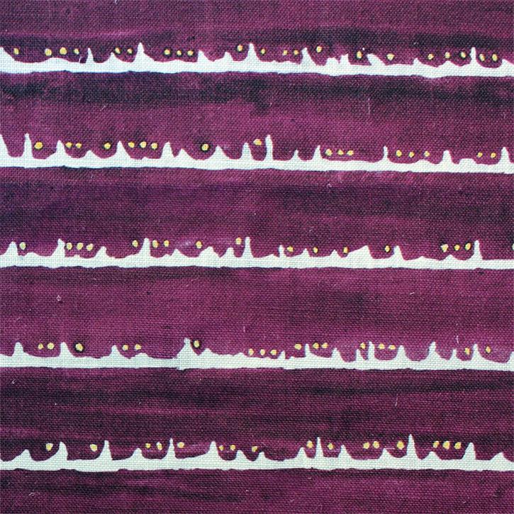 Sylvie&Mira Fabric Deckle Dot Purple