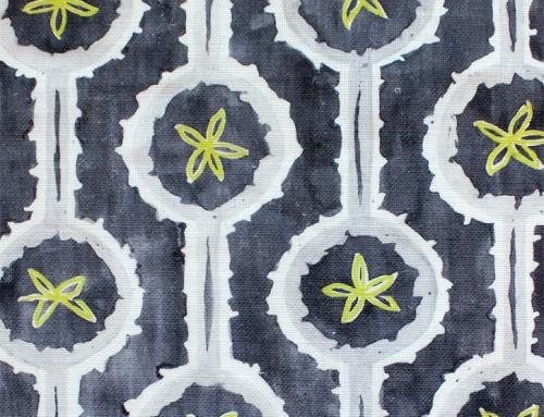 SylvieAndMira Leap Grey Fabric