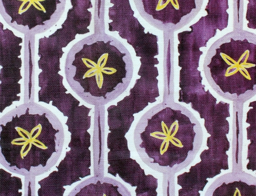 SylvieAndMira Leap Purple Fabric