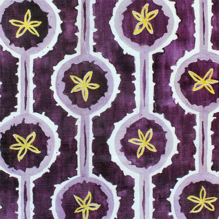 Sylvie&Mira Fabric Leap Purple
