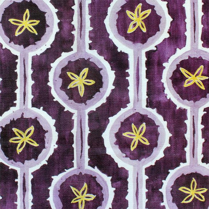 Sylvie&Mira Fabric Leap Purple