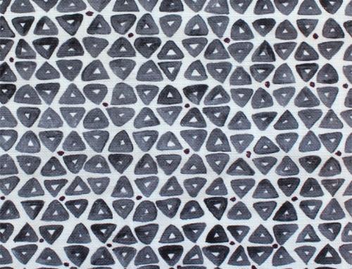 SylvieAndMira TriDot Grey Fabric