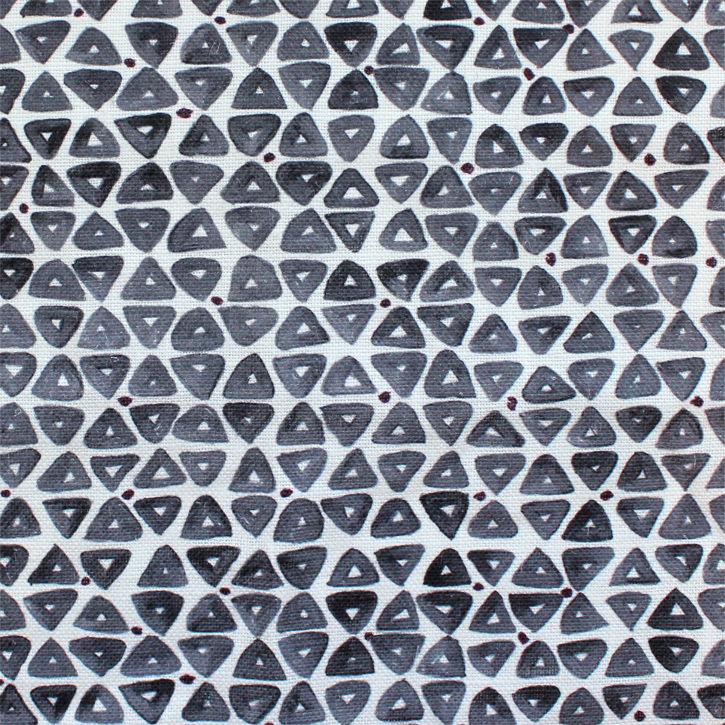 Sylvie&Mira Fabric TriDot Grey