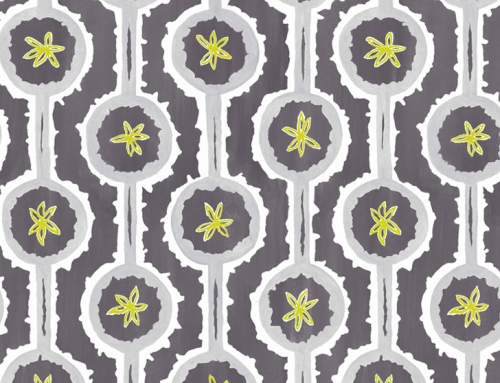 SylvieAndMira Leap Grey Wallcovering