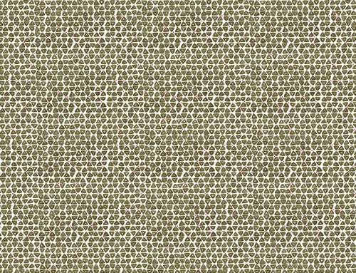 SylvieAndMira TriDot Green Wallcovering