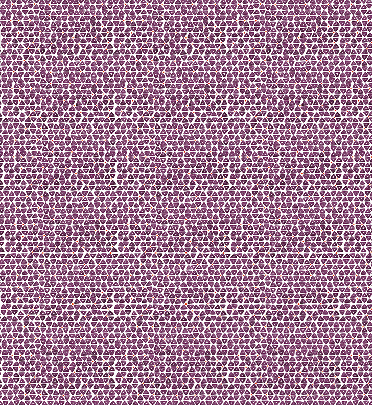 Sylvie&Mira Wallcovering TriDot Purple