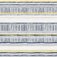 Sylvie&Mira Rug Savannah Navy Slate Yellow