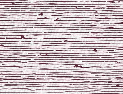 SylvieAndMira Birches Aubergine Fabric
