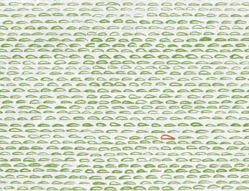 SylvieAndMira Finn Green Apple Fabric