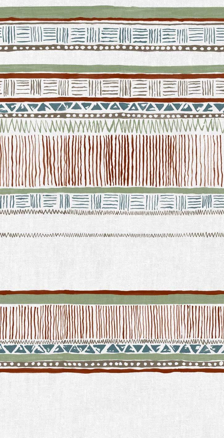 Savannah Fabric Terracotta Sage