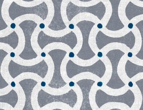 SylvieAndMira Toggle Seal Grey Fabric