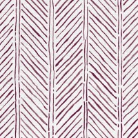 John's Feather Fabric Aubergine