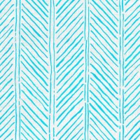 John's Feather Fabric LiLu Blue