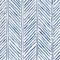 John's Feather Fabric Navy