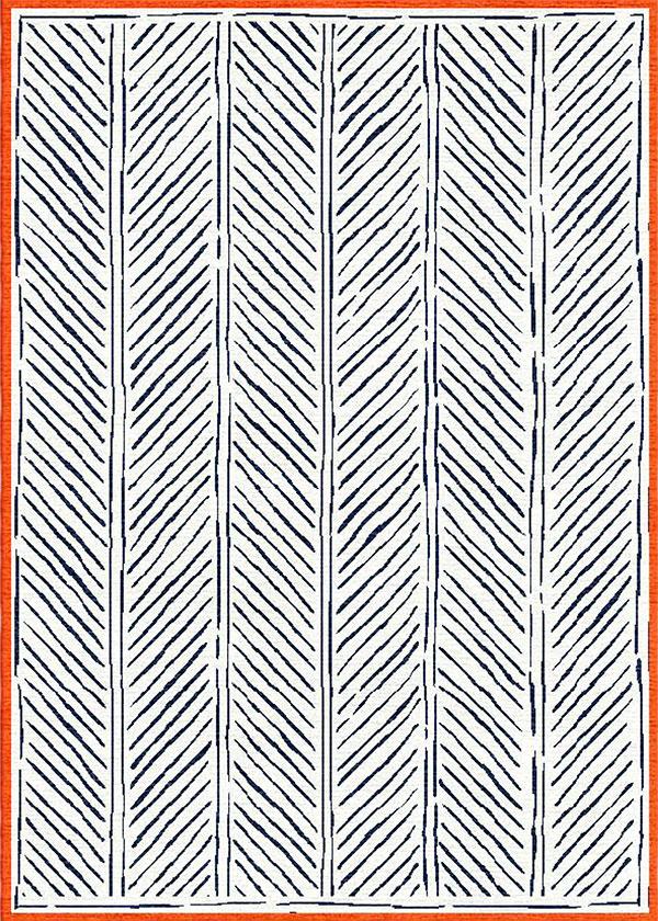 John's Feather Navy Rug