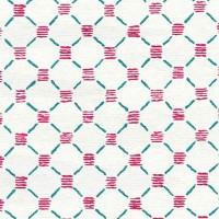 Stitches Pink Teal Rug