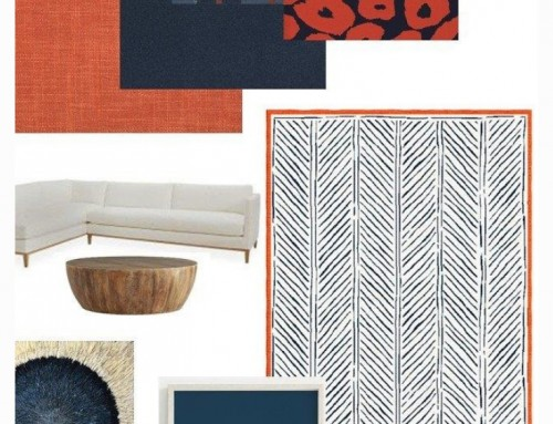 Mood Board Inspiration from Sylvie and Mira-Interior Designer Textile Collection