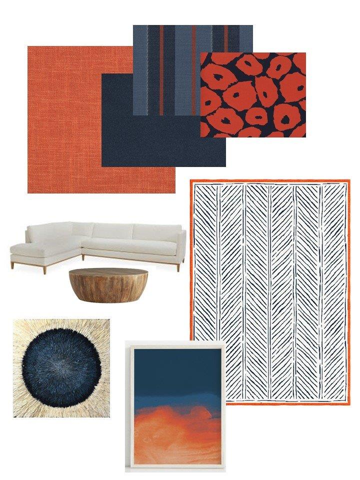 family-room-mood-board-navy-and-orange-sylvie-and-mira-interior-designer-textile-collection.jpg