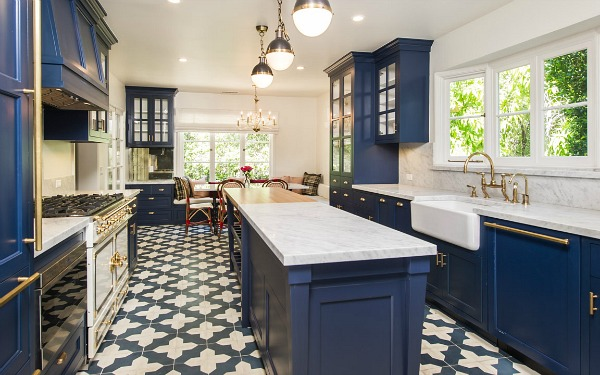 Zooey-deschanel-kitchen-interior-designer-textile-collection