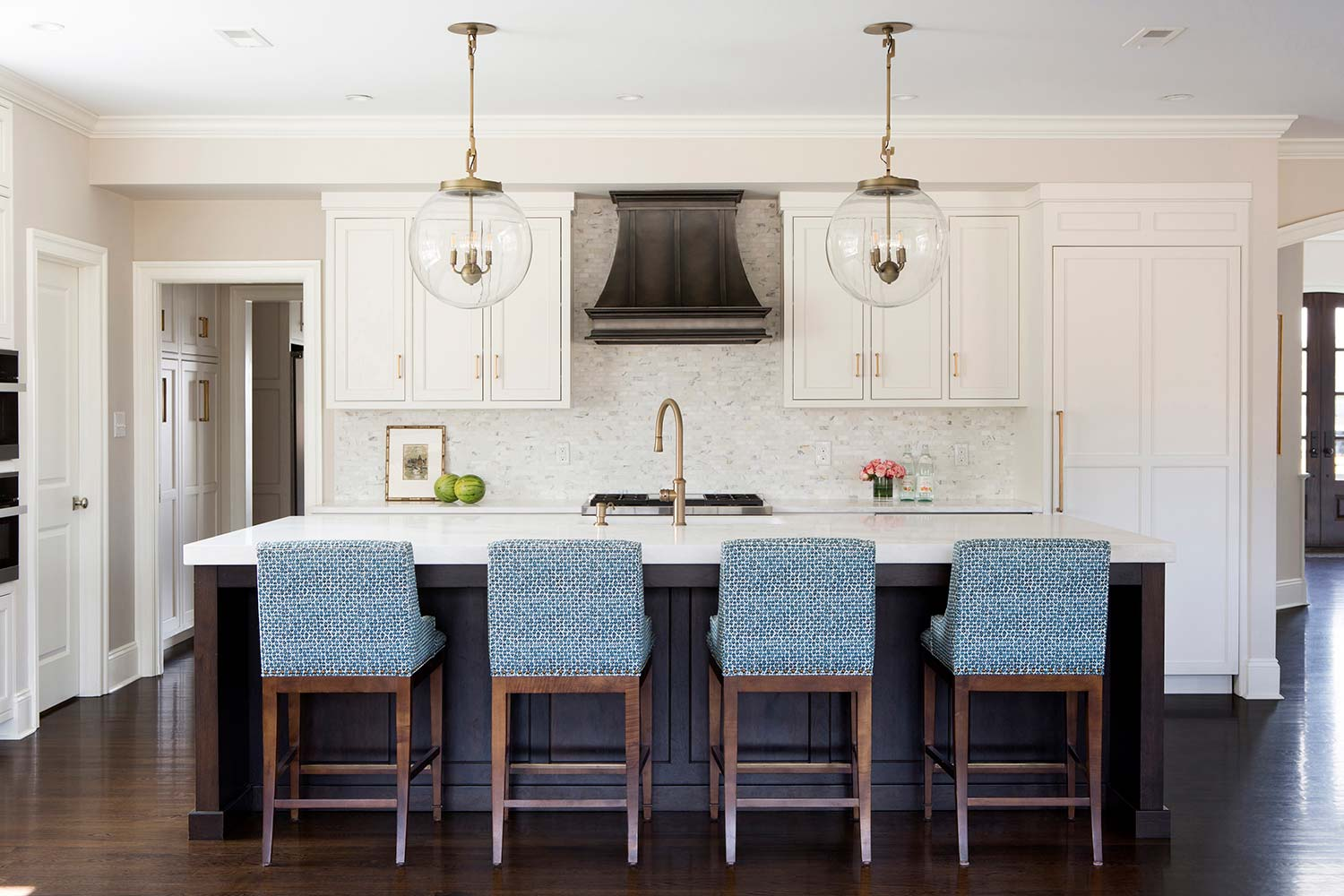 TriDot Blue Kitchen Chairs